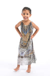 MUSEE' COLLECTION - LITTLE GIRLS MAXI DRESS