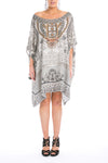 BLANCO LaNEVE - SHORT BOX KAFTAN