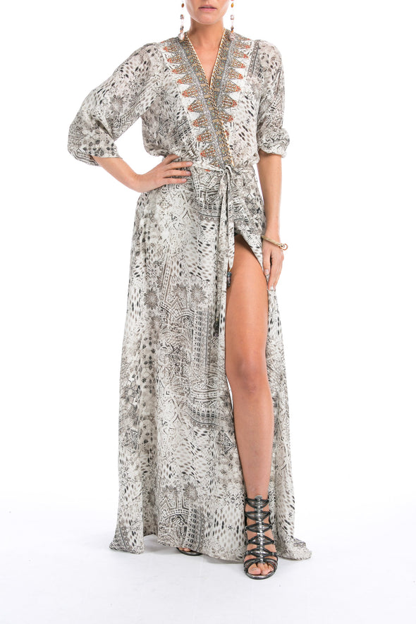 BLANCO LaNEVE - LUXE ROBE GOWN