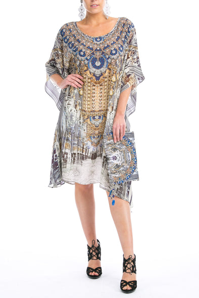 MUSEE' COLLECTION - SHORT KAFTAN