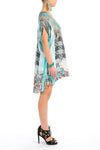 BIRDCAGE -  Kaftan Tunic Top (Longer Style)