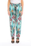 BIRDCAGE - SILK EMBELLISHED TROUSERS