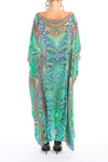 EMERALD FOREST - Box Kaftan