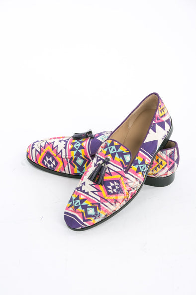 SHOES - MENS COLLECTION - PERUVIAN LOAFER WITH TASSLES