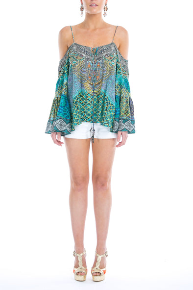 MARRAKESH COLLECTION - GYPSY TUNIC TOP