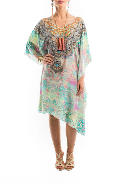 SEYCHELLES COLLECTION - Short Kaftan