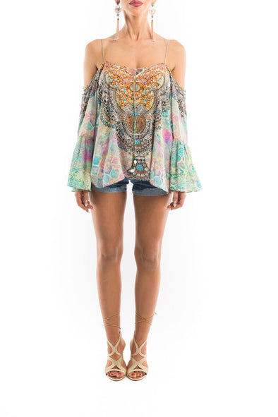 SEYCHELLES COLLECTION - GYPSY TUNIC TOP