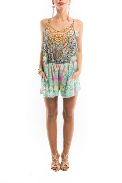 SEYCHELLES COLLECTION - PLAYSUIT