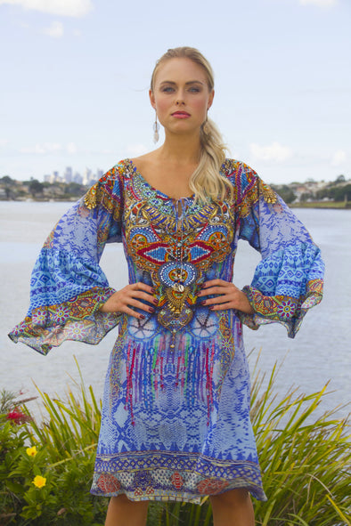 CABO SAN LUCAS - GYPSY DRESS