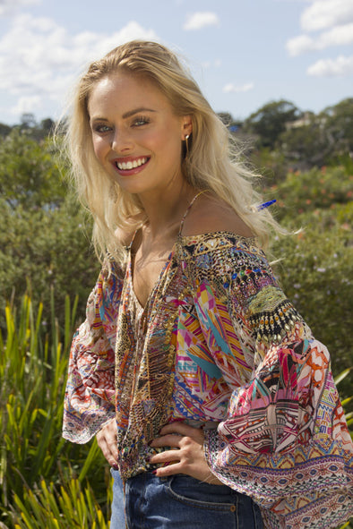 PANAMA COLLECTION - GYPSY TUNIC TOP