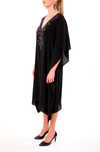 MONOCHROME BLACK - SHORT KAFTAN