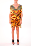 WILD SAHARA -  Kaftan Tunic Top (Longer Style) - TheSwankStore - 2