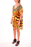 WILD SAHARA -  Kaftan Tunic Top (Longer Style) - TheSwankStore - 3