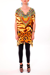 WILD SAHARA -  Kaftan Tunic Top (Longer Style) - TheSwankStore - 4