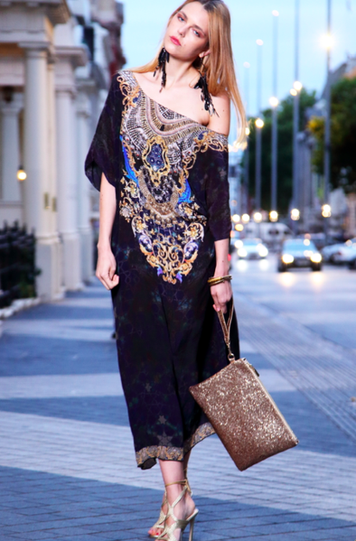 MIDNIGHT COLLECTION - Box Kaftan