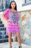 MOROCCAN ROMANCE -  Kaftan Tunic Top (Longer Style)