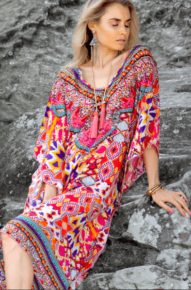 MARANALLO COLLECTION - Short Kaftan