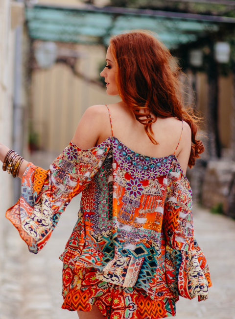 NEGRONI COLLECTION - GYPSY TUNIC TOP