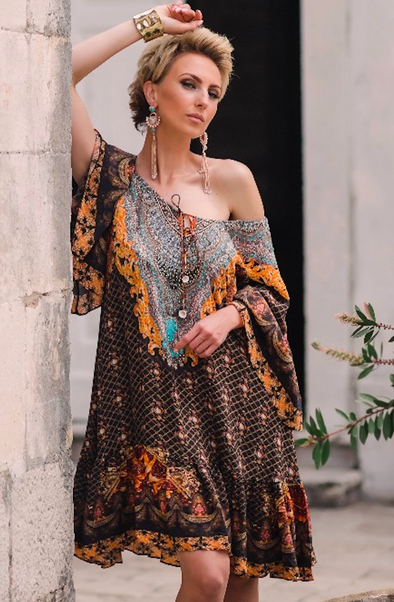BAROQUE COLLECTION - GYPSY DRESS