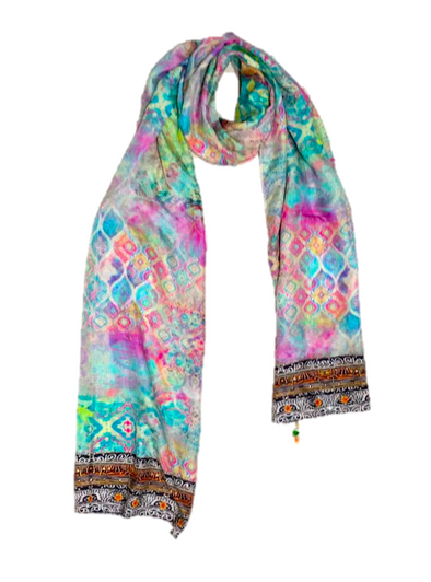 SEYCHELLES COLLECTION - Silk Scarf