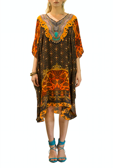 BAROQUE COLLECTION - SHORT KAFTAN