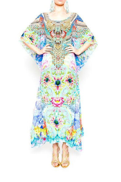 DREAMING LOTUS - Long Kaftan