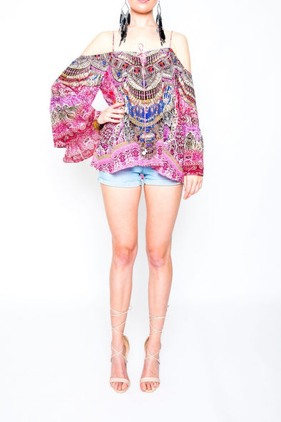 MOROCCAN ROMANCE - GYPSY TUNIC TOP