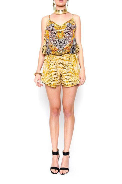 GOLDEN LEOPARD - Playsuit