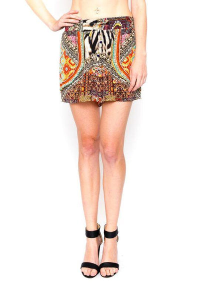 ALICANTE' COLLECTION - SILK SHORTS