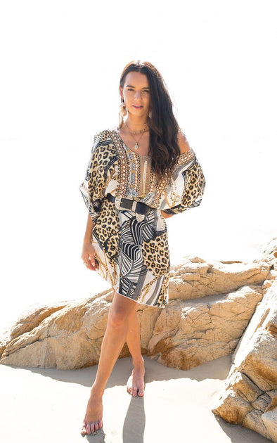 BELLAGIO COLLECTION - SHORT BOX KAFTAN