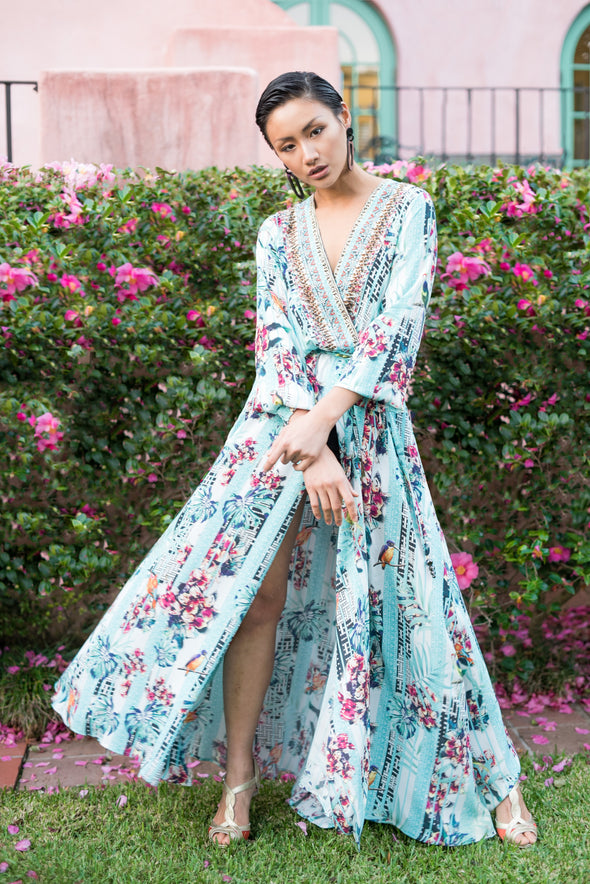 BIRDCAGE - LUXE ROBE GOWN