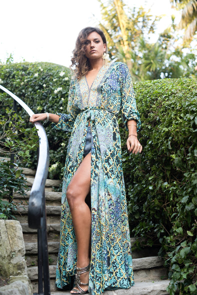 MARRAKESH COLLECTION - LUXE ROBE GOWN