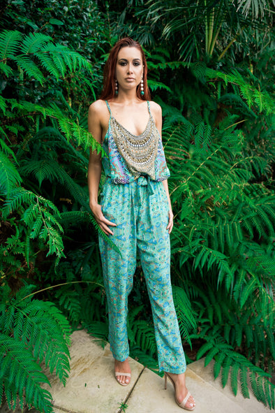 EMERALD FOREST - JUMPSUIT