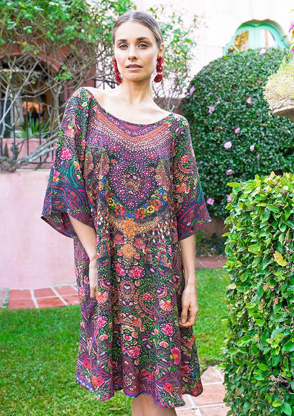 ROSARIO COLLECTION - SHORT KAFTAN