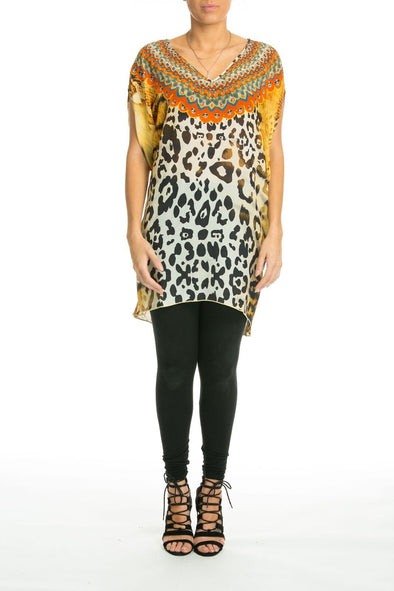 BALMAIN -  Kaftan Tunic Top (Longer Style) - TheSwankStore - 1