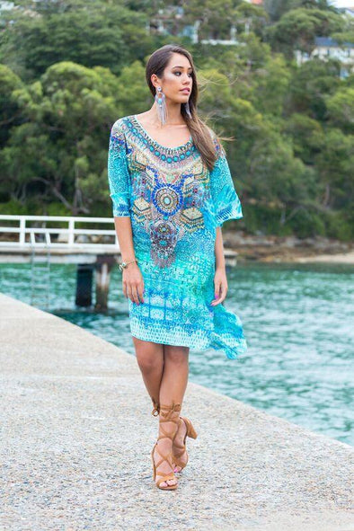 PACIFICO - SHORT KAFTAN