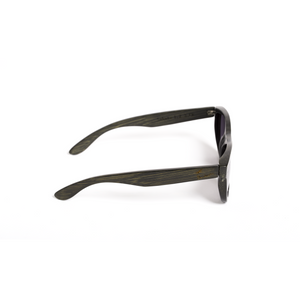 Sahara Bamboo Sunglasses Dark Brown