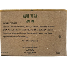 Zero Waste Path - Aloe Vera Soap Bar