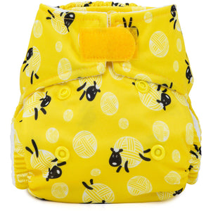 Baba + Boo Newborn Reusable Nappy - Baa Ba Sheep