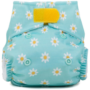 Baba+Boo Newborn Reusable Cloth Nappy - Daisy Chain