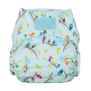 Baba + Boo Newborn Reusable Nappy - Dawn Chorus
