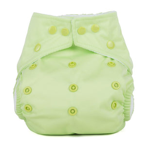 Baba+Boo One Size Reusable Cloth Nappy - Plain Apple Green