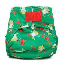 Baba + Boo Newborn Reusable Nappy - Tree Frog