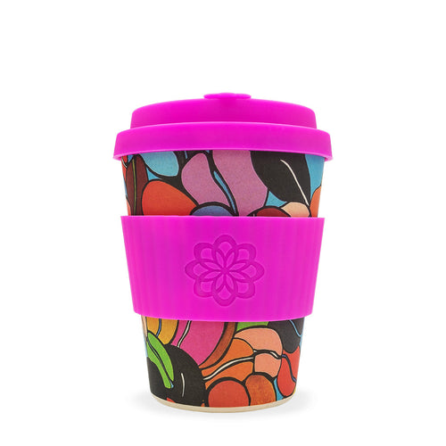 Reusable Bamboo Ecoffee Cup - Limited Edition  Couleur Cafe 12oz 340ml