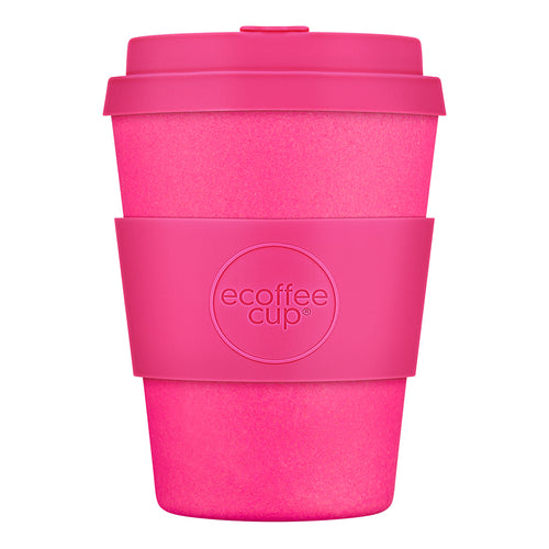 Reusable Bamboo Ecoffee Cup - Pink'd 12oz 340ml
