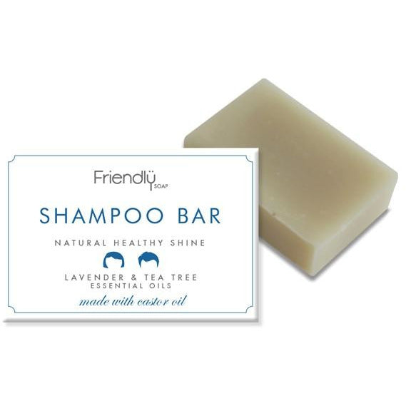 Lavender & Tea Tree Shampoo - Friendly Soap