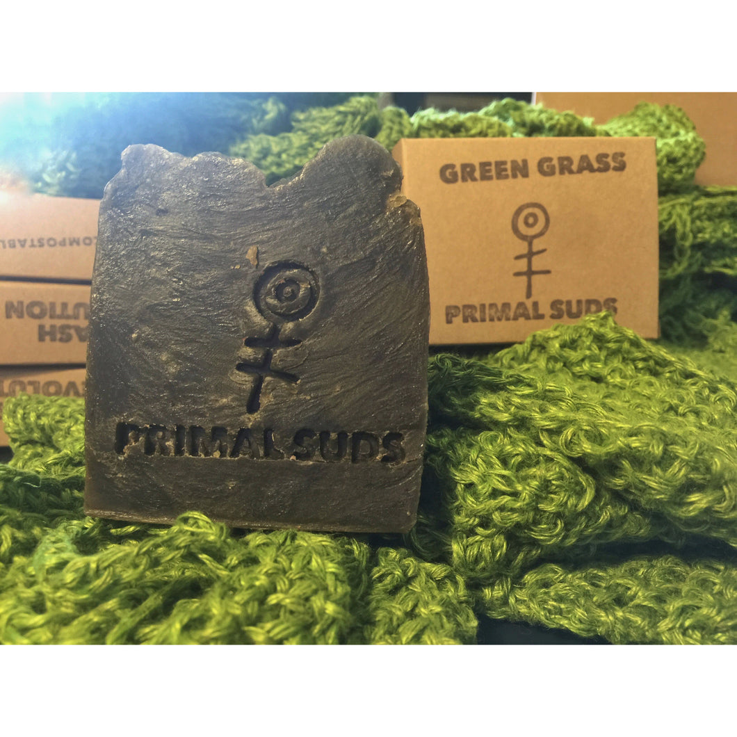 Green Grass Soap - Primal Suds