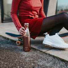 Insulated Stainless Steel Water Bottle -Rose Gold - Qwetch