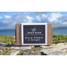 Soap Daze - Black Pepper and Ginger Large Soap