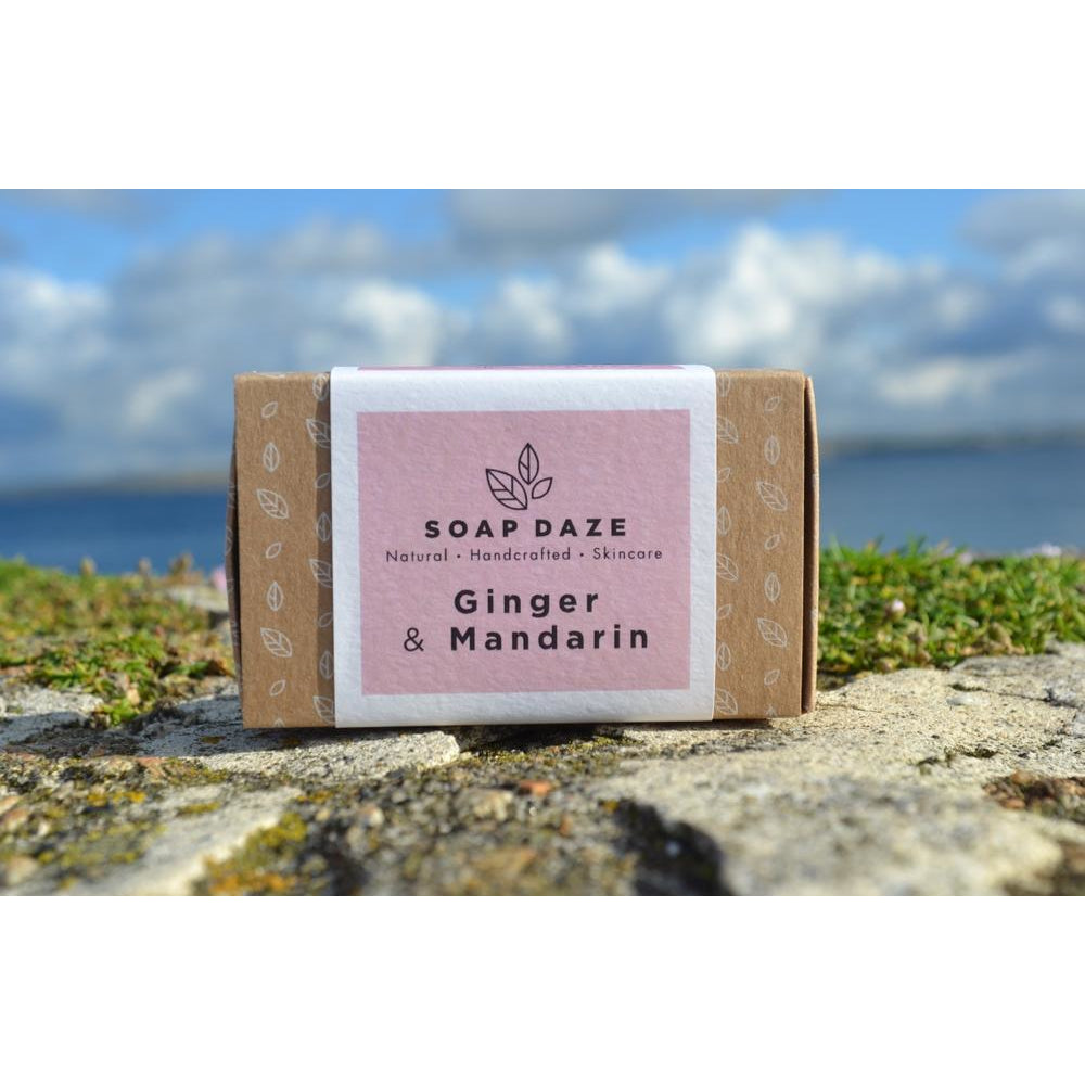 Soap Daze - Ginger and Mandarin Large Soap